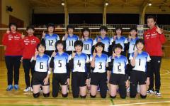 帯広選抜男女V奪取へ闘志 道中学バレー優秀選手選抜大会