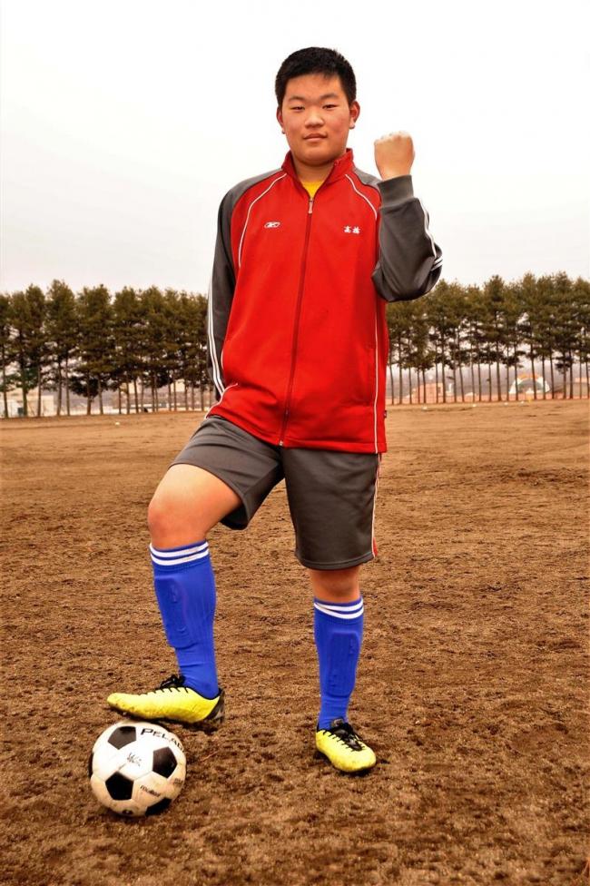 共栄中の高橋完太朗、日本サッカー協会クラブ中体連キャンプに選出