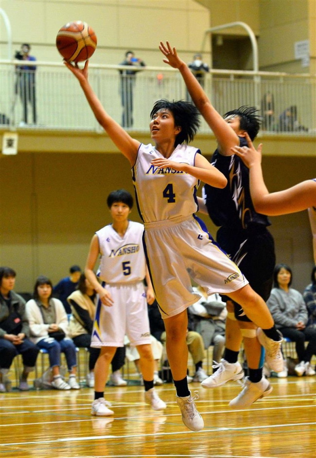 帯南商高V3 男子はフライトクラブ 勝毎杯全十勝バスケットボール総合選手権
