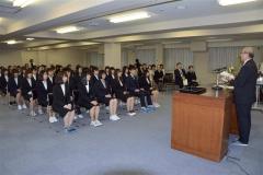 30人が夢へ一歩 帯広看護専門学校で入学式 3