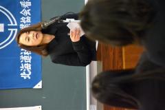 来賓の合田真弓保健福祉部健康推進課長