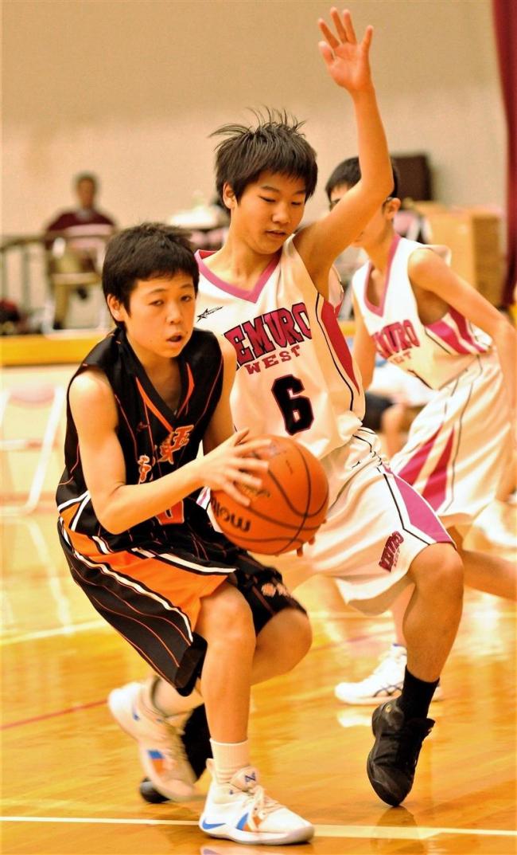 道内バスケ中学男子23校が強化試合で熱戦、白樺カップ