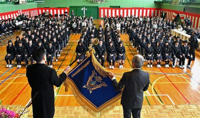 幕別清陵高が幕開け 新入生102人