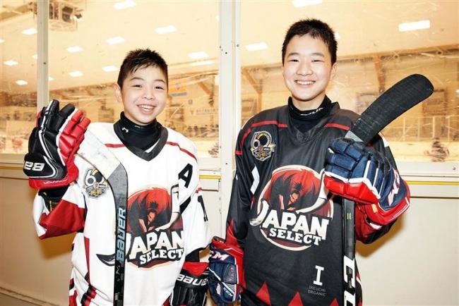 カナダ大会で貴重な経験、アイスホッケー小学日本選抜入りの関と田村