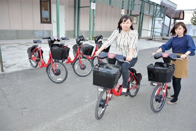 レンタサイクル実証試験開始へ 池田観光協会