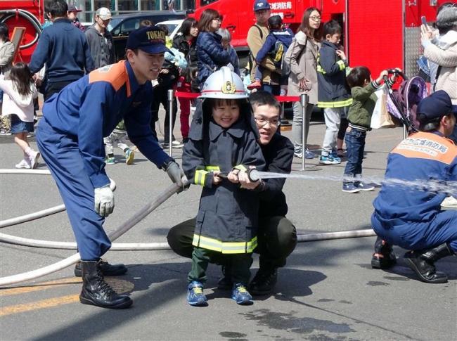 防火意識高めて 春の火災予防フェスティバル