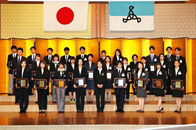 高木美帆JOC杯、菜那、久保、堀川も優秀選手賞 日本スケート連盟表彰