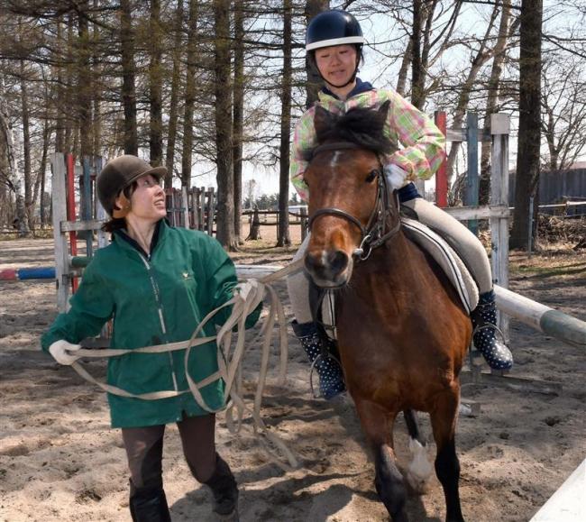 馬との触れあい楽しむ 十勝乗馬連盟が講習会