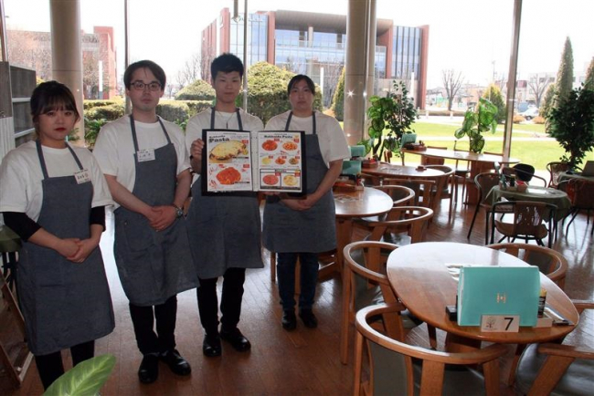 カフェ「Isshin」がオープン とかちプラザ