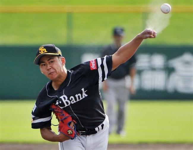 ソフトバンクの古谷投手、日本球界左腕の最速160キロをマーク3軍戦で