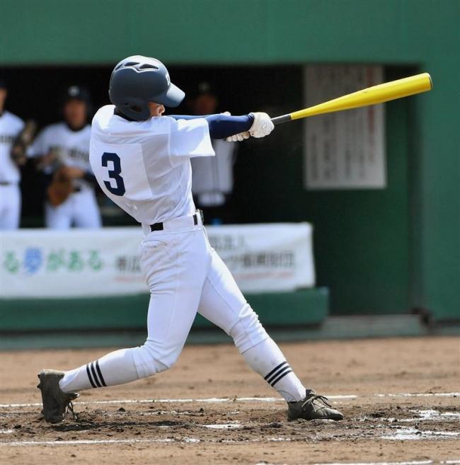帯柏葉粘り強い打線でコールド発進、春季高校野球十勝支部開幕