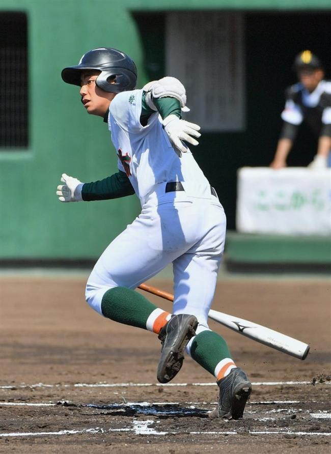 帯緑陽初回7点猛攻でコールド勝利、高校野球道春季大会十勝予選