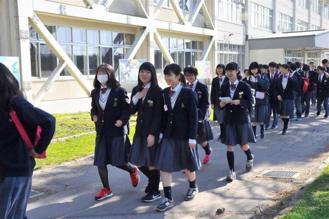 「実りある旅に」 市内中学校で修学旅行シーズン