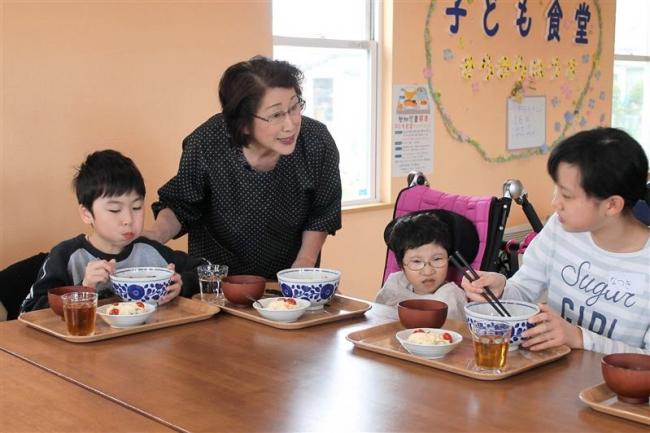 音更 子ども食堂がオープン 地域で一緒に暮らそう会