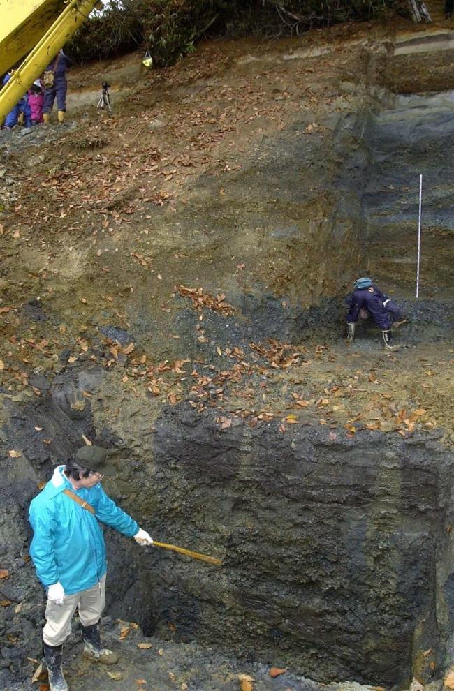 ナウマンゾウの化石発見から半世紀 10月に11年ぶり発掘調査