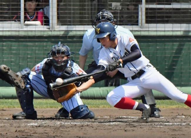 投打で圧倒、帯大谷2年ぶり2度目の代表 春季道高校野球十勝支部予選
