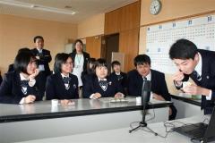 士幌高生がパソコン通じ交流 キルギスの学生と