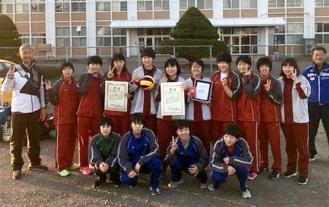 共栄・音更3位、中学生バレーボール全道選抜優勝大会