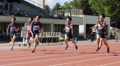 中島大会新V男子100メートル 女子は1年生小野寺 全十勝高体連陸上