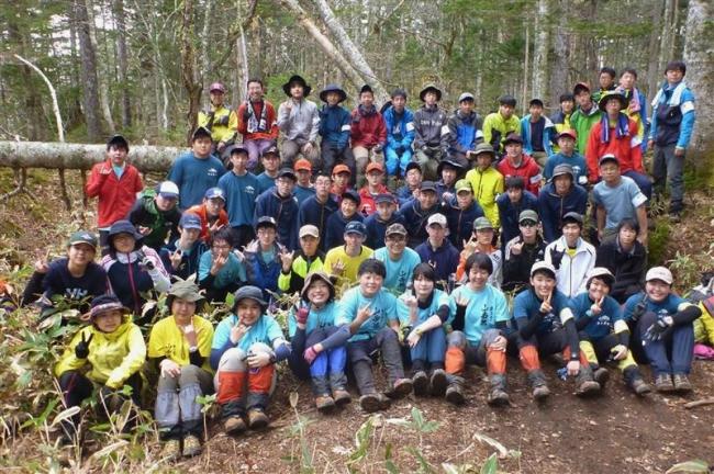 帯柏葉アベックV、男子4校女子3校出場 登山高体連支部予選