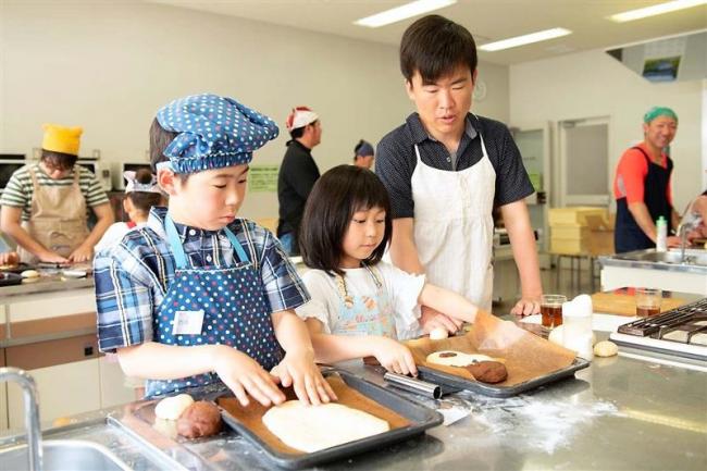 パパと楽しくパン作り 幕別百年記念ホール