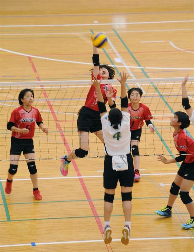 下音更4年ぶりV 川西混合、木野東男子制覇 全日本小学生バレー予選