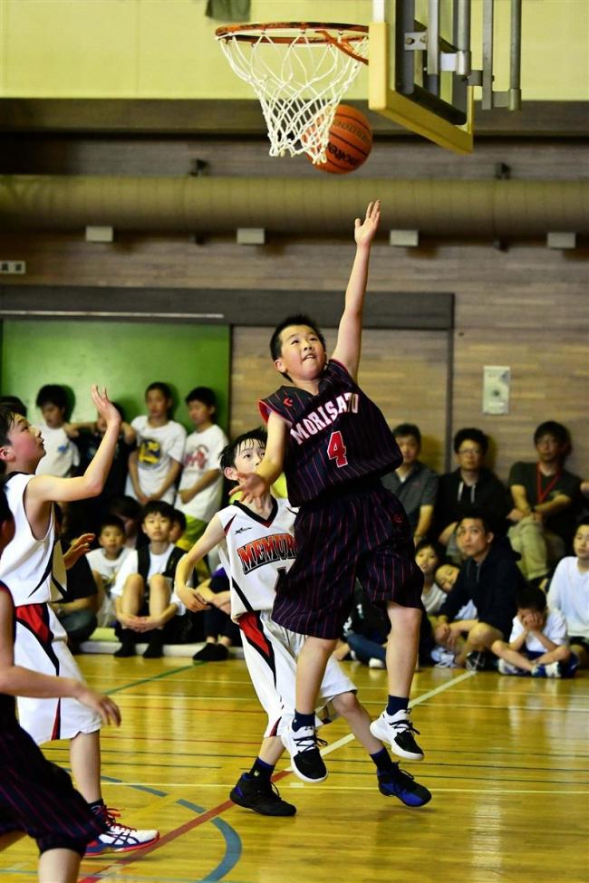 帯広森の里男女そろってV 全十勝ミニバスケットボール春季大会