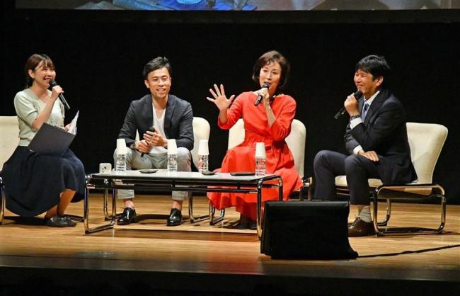 高畑淳子さん「出演忘れるほど面白い」 帯広でなつぞら公開セミナー