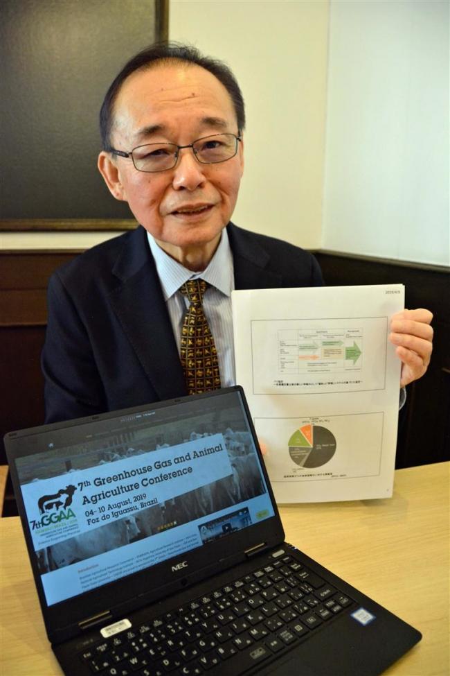 南米で環境問題意識普及を GGAAに参加の帯畜大高橋名誉教授