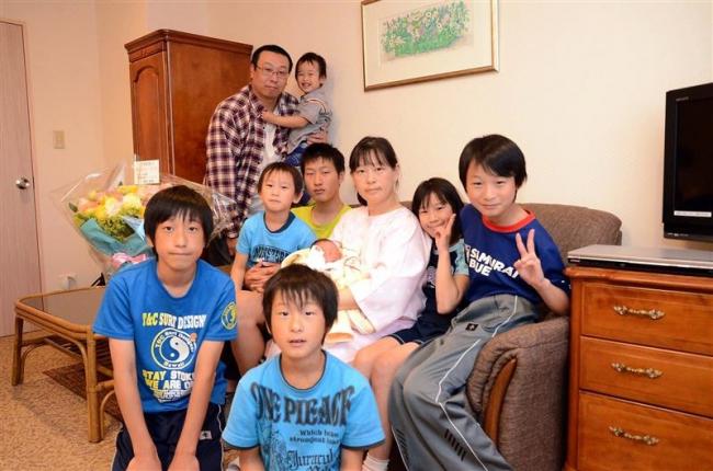 大家族、令和もにぎやか 幕別の太田さん一家に10人目の赤ちゃん
