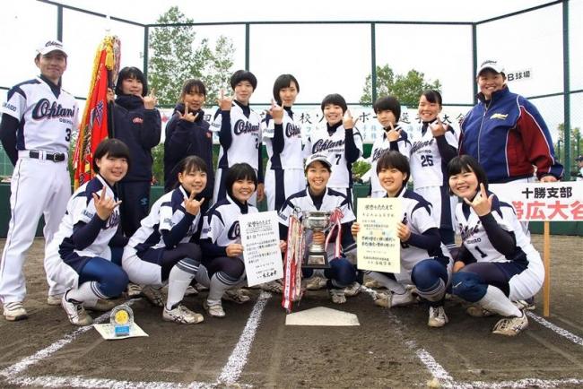 2年生エース中村完投、帯大谷38年ぶり全国 道高体連女子ソフトボール
