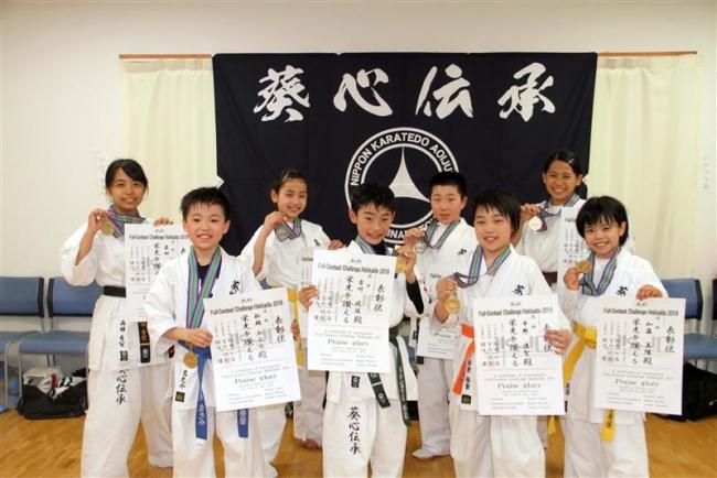 森田姉妹ら葵塾の6選手が全日本ジュニア選手権へ フルコンタクト空手