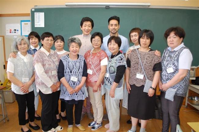被災地支える編み物の力 中札内横山さんの支援活動8年目