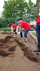 子どもたちの野菜作り進む 十勝ヒルズの「キッズトライ農園」 4