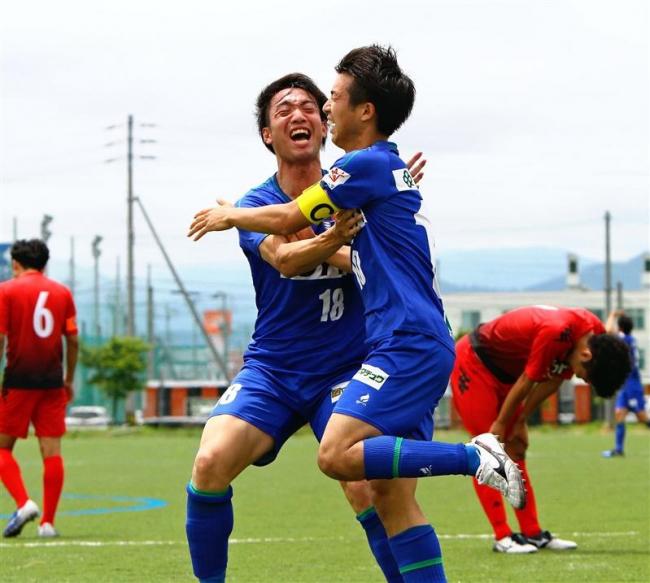 松尾主将6試合連続ゴール、スカイアース6連勝道リーグサッカー