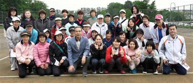小川・小林組ら優勝 第1回全十勝レディースソフトテニス