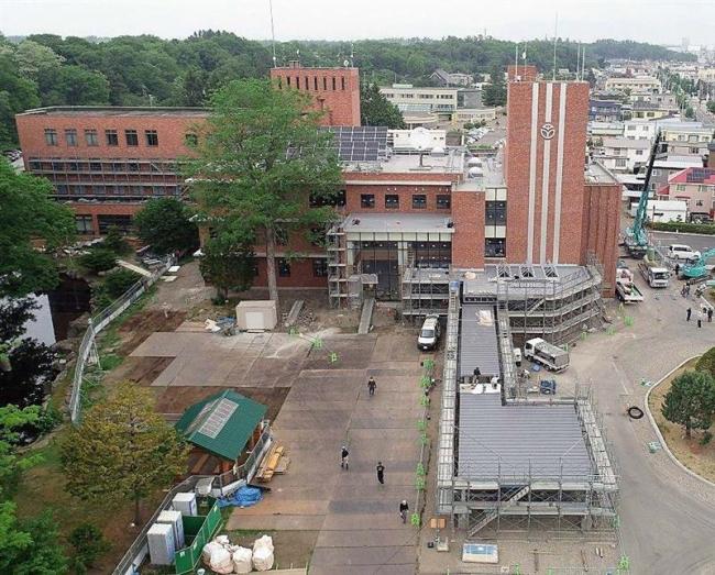 役場増築棟完成 16日から供用開始 音更