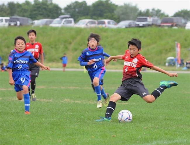 幕別札内FC・A、芽室A、鈴蘭全道へ U12少年団サッカー十勝予選