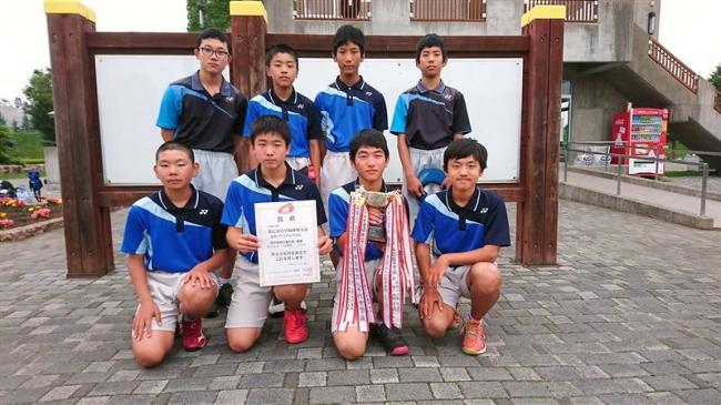 市中体連夏季ソフトテニス、帯八千代男子と帯南町女子が団体2連覇