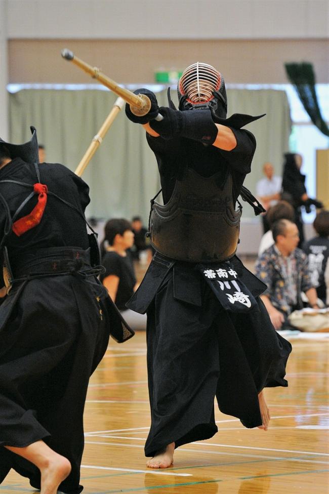 帯南町団体戦男女V、川崎誠士は2冠 全十勝中体連剣道