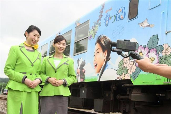 陸別で動画撮影 道キャンペーンでスプリングジャパン