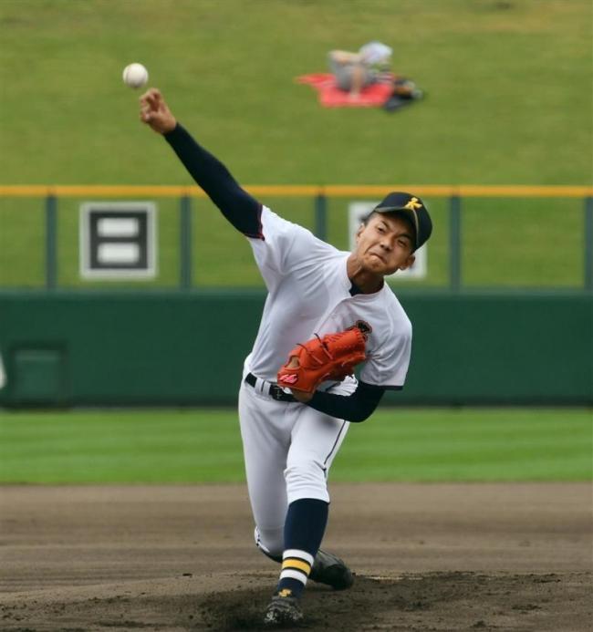十勝勢先陣の帯北、北見北斗に先制許す 夏の高校野球北北海道大会
