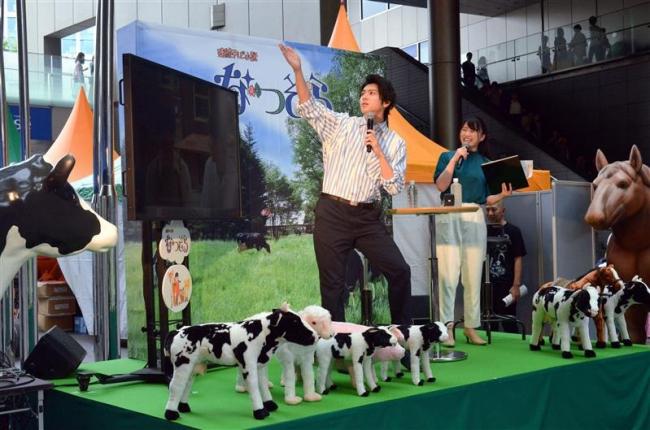 なつぞら、東京でも人気 雪次郎トークショーに1000人