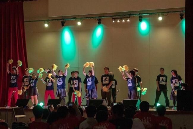幕別高と中札内高等養護分校が合同学校祭