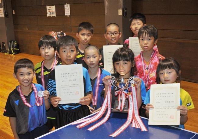 馬渕、谷沿ら小学10選手卓球全国選手権へ、団体も十勝クと札内ク全国へ