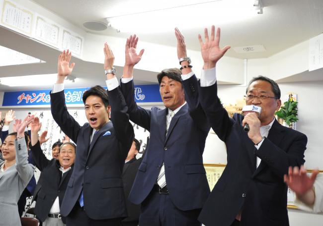「北海道のために全力を尽くしたい」 岩本氏があいさつ