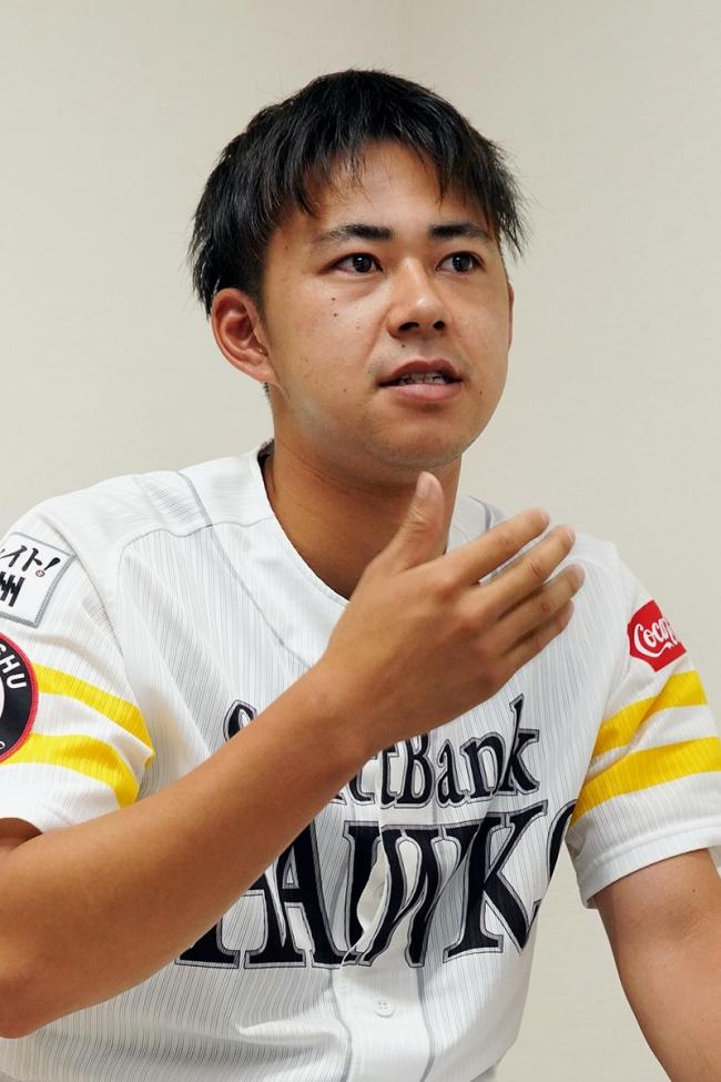 江陵高出の福岡ソフトバンクホークス古谷優人投手、1軍目指し飛躍の兆し