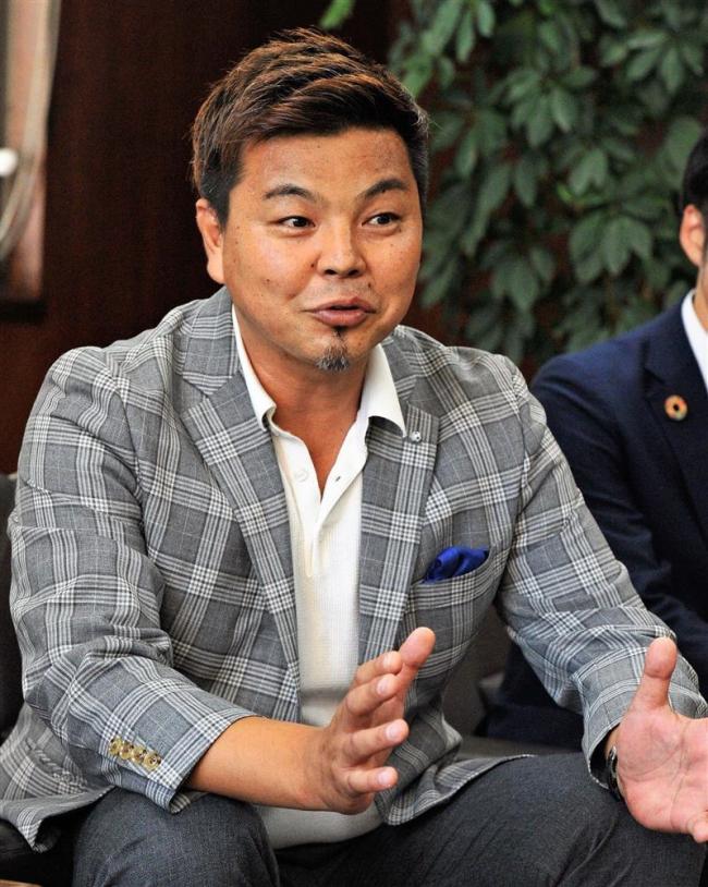 北海道十勝スカイアースの城GM来社「全国を勝ち抜く態勢を」