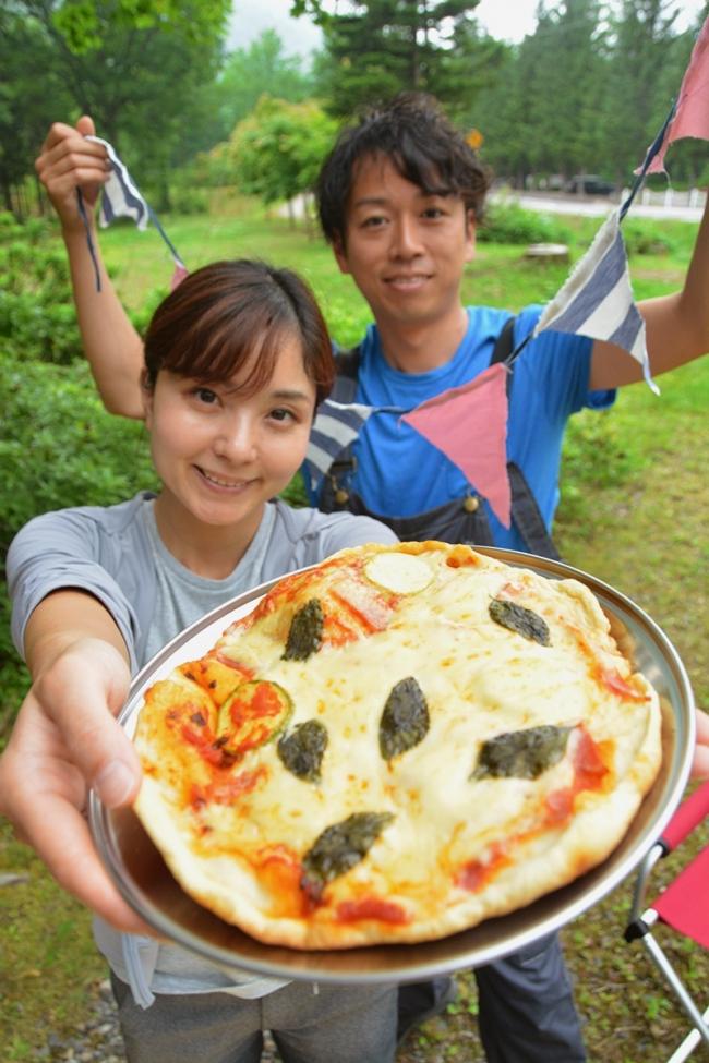 取れたて野菜でピザ作り 8月に5日間限定イベント 中札内