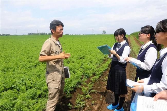 グローバルGAPへ始動 士幌高校と河田ファーム